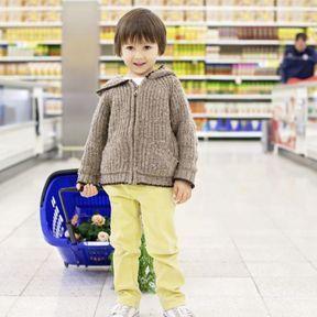 Au supermarché, limiter les emballages