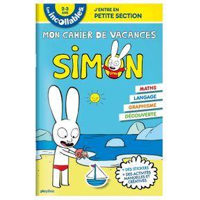 Les cahiers de vacances de Simon