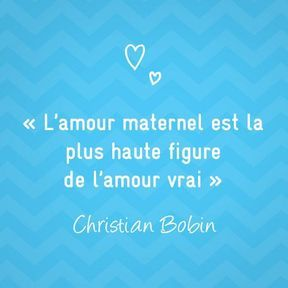 Citation sur la maternité de Christian Bobin