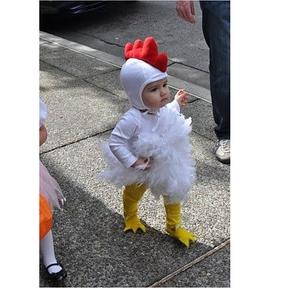 Déguisement de petit poulet