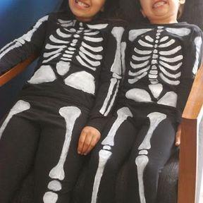 Déguisement du squelette