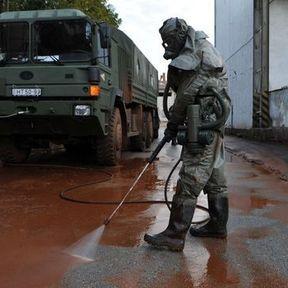 Nettoyage urgent des zones polluées