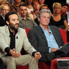Anthony et Alain Delon