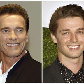 Arnold et Patrick Schwarzenegger