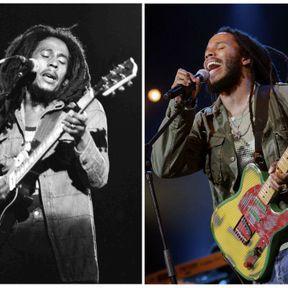 Bob et Ziggy Marley