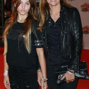 Thylane Blondeau et Véronika Loubry