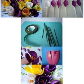 Le bouquet cuillères