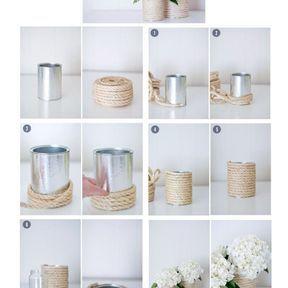 Le pot de fleurs moderne