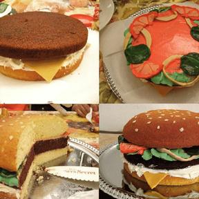 Le burger cake