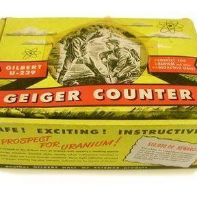 Geiger counter, à la recherche de la radioactivité