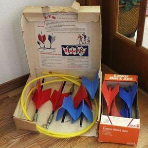 Lawn darts missile game : le jeu qui tue