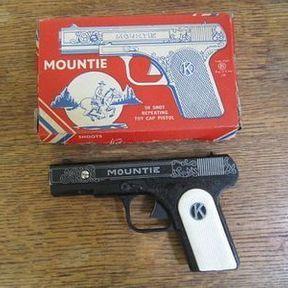 Le pistolet Kilgore et sa poudre à canon