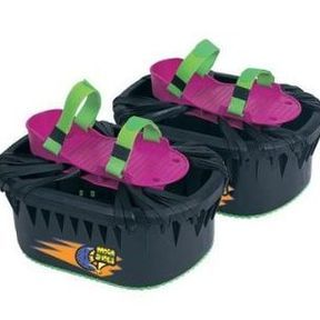 Moon shoes, et si on se cassait une cheville ?