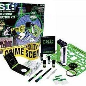 Panoplie CSI ou le jeu d'expert à l'amiante