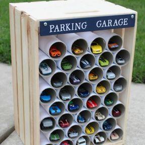 DIY garage à voiture
