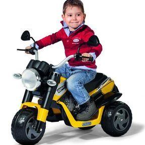 La moto Scrambler, Peg-Pérego