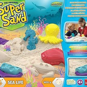 Super Sand : Sea Life pour modeler de jolis coquillages
