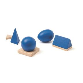 Solides géométriques, Ateliers Montessori