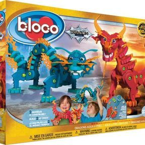 Aqua & Pyro dragons bloco