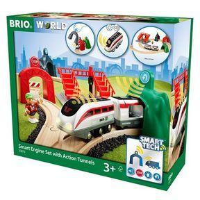 Avec Smart Tech,  la gamme Brio innove pour rendre l'enfant maître du jeu