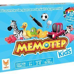 Memotep Kids en réalité augmentée