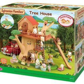 Sylvanian Families - la cabane dans les arbres