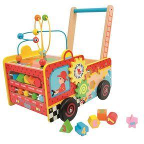 Chariot d'activité Pompier, Wood'N Play
