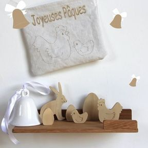 Pochette DIY de Pâques