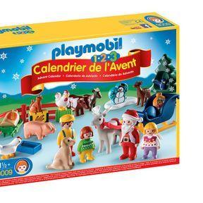 Calendrier de l'Avent Playmobil Noël 1-2-3