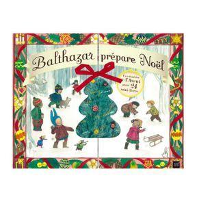 Calendrier Balthazar prépare Noël