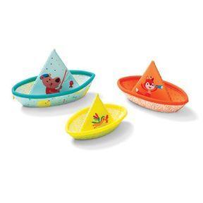 3 bateaux de bain en néoprène