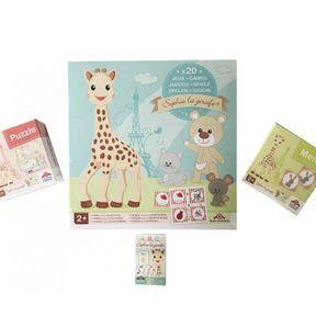 Coffret de jeu Sophie la girafe