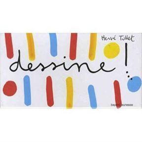 Jouer à dessiner : Dessine ! de Hervé Tullet