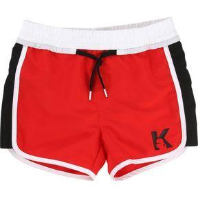 Le short de bain rouge Karl Lagerfeld