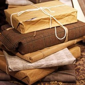 Papier cadeau malin