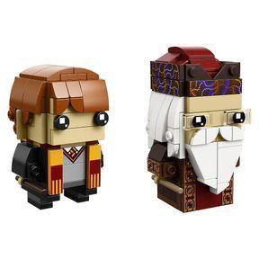LEGO® BrickHeadz - Ron Weasley & Albus Dumbledore