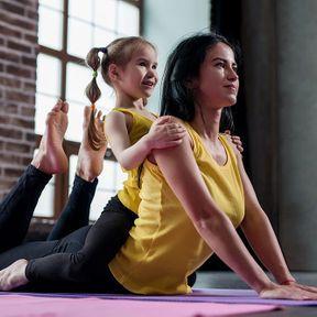 Des séances de yoga