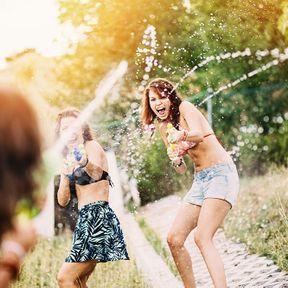 Les jeux d'eau