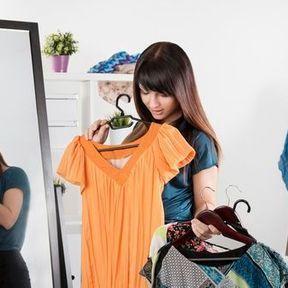 Choisir les vêtements la veille