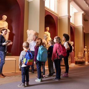 Anniversaire au musée