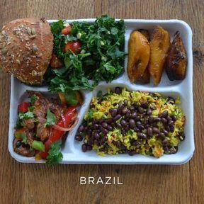 Le plateau repas au Brésil