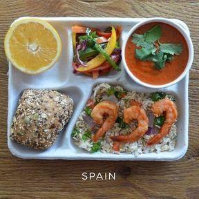 Le plateau-repas en Espagne