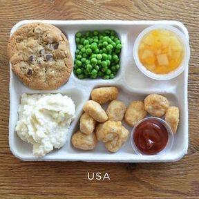 Le plateau-repas aux Etats-Unis
