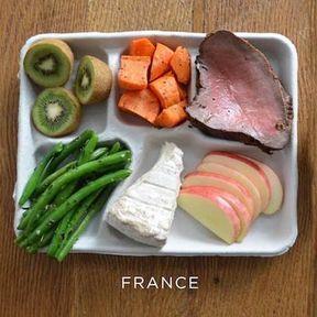 Le plateau-repas en France