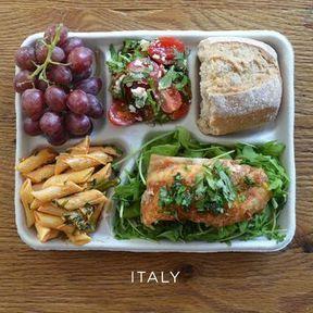 Le plateau-repas en Italie