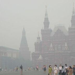 Moscou étouffe