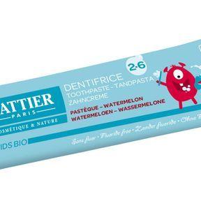 Dentifrice 2-6 ans, Cattier