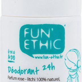 Déodorant 24h être ado, Fun Ethic