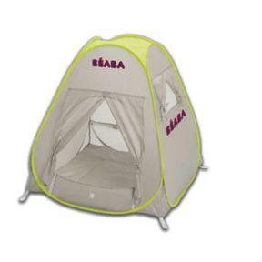Bien protégé dans la tente anti-UV
