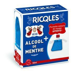 L'alcool de menthe Ricqlès pour des vacances sans tracas